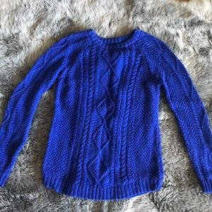 Zara Cable Knit Sweather -Size L